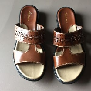 Croft and barrow slip on sandals